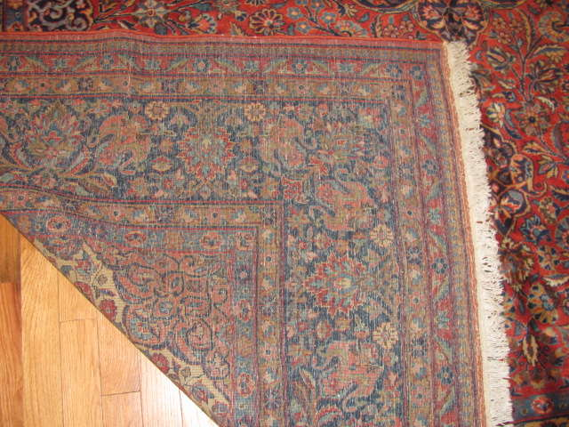 25015 Persian Kashan carpet 7,11 x 9,10-3