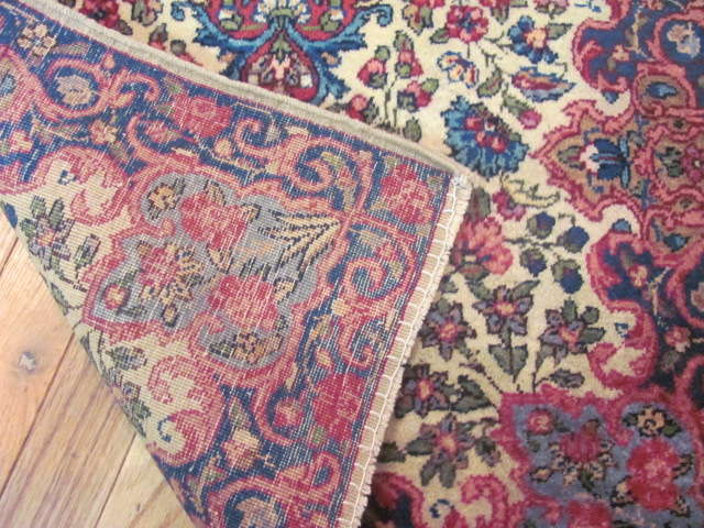 25025 Persian Kirman mat 2 x 3-1