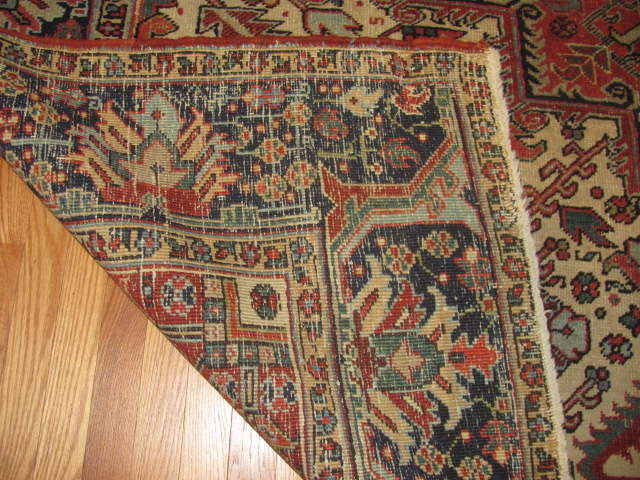 25035 Persian Heriz carpet  8,10 x 12,3-3
