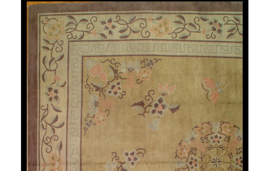25044 Chinese Mandarin carpet 11,4 x 12,10-1