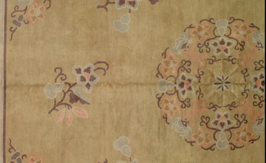 25044 Chinese Mandarin carpet 11,4 x 12,10-2