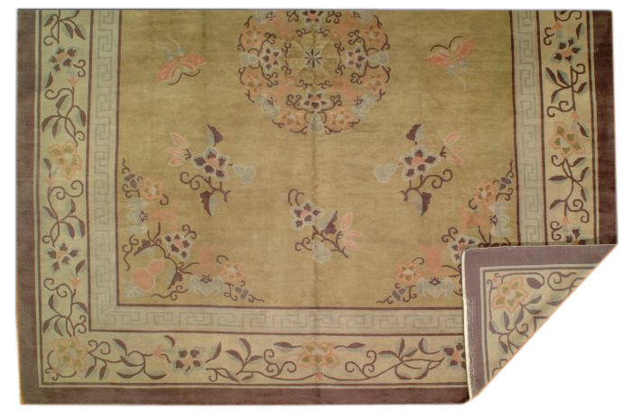 25044 Chinese Mandarin carpet 11,4 x 12,10