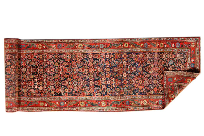 25045 Persian Bidjar hall runner 3,4 x 14,8