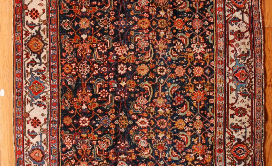25046 Antique Persian Bidjar gallery 4,9 x 12,5-1
