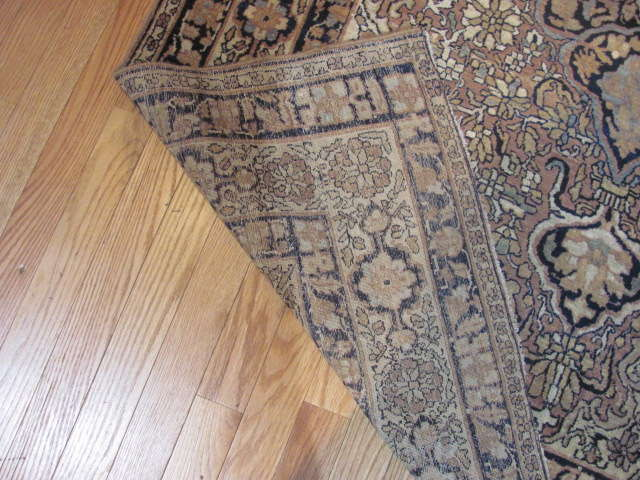 25047 Antique Persian Kirman Lavar rug  4,2 x 6,6-3
