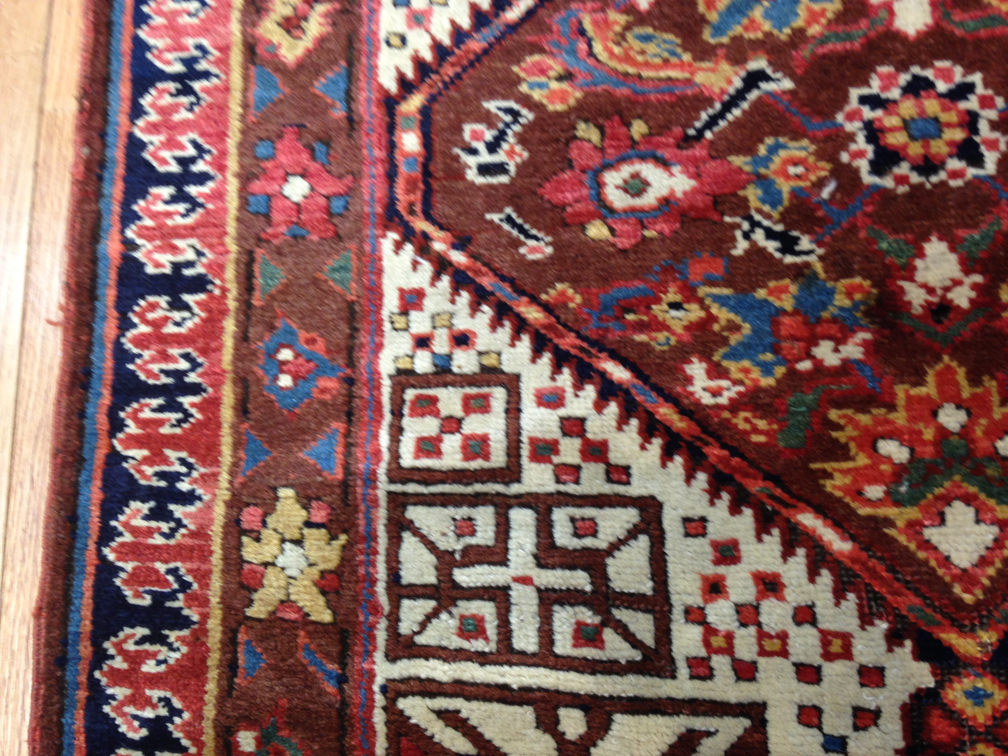25051 Antique Persian Bakshaish runner 2,10 x 17,3 -5