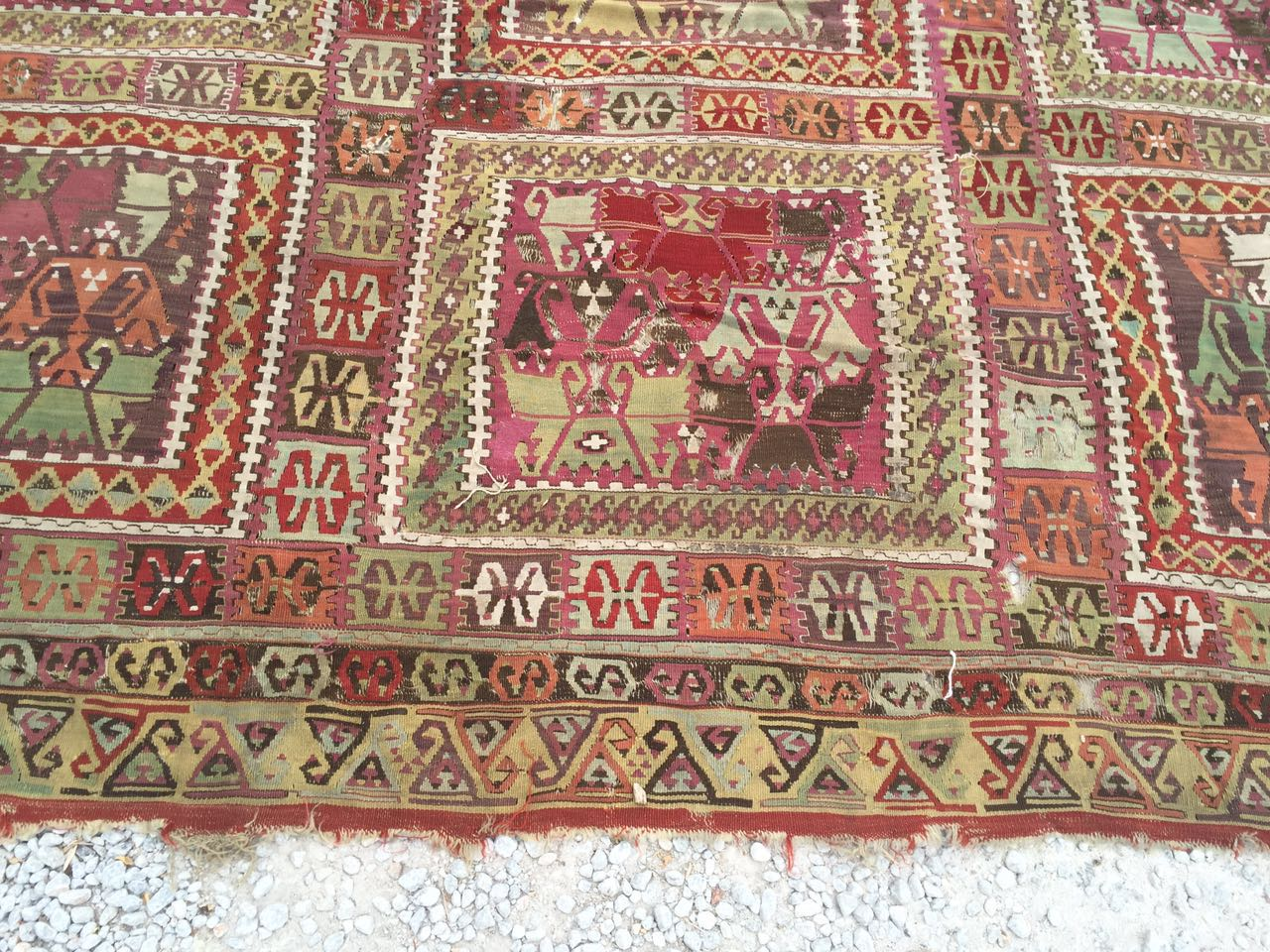 13125 Antique Anatolian kilim rug (3)