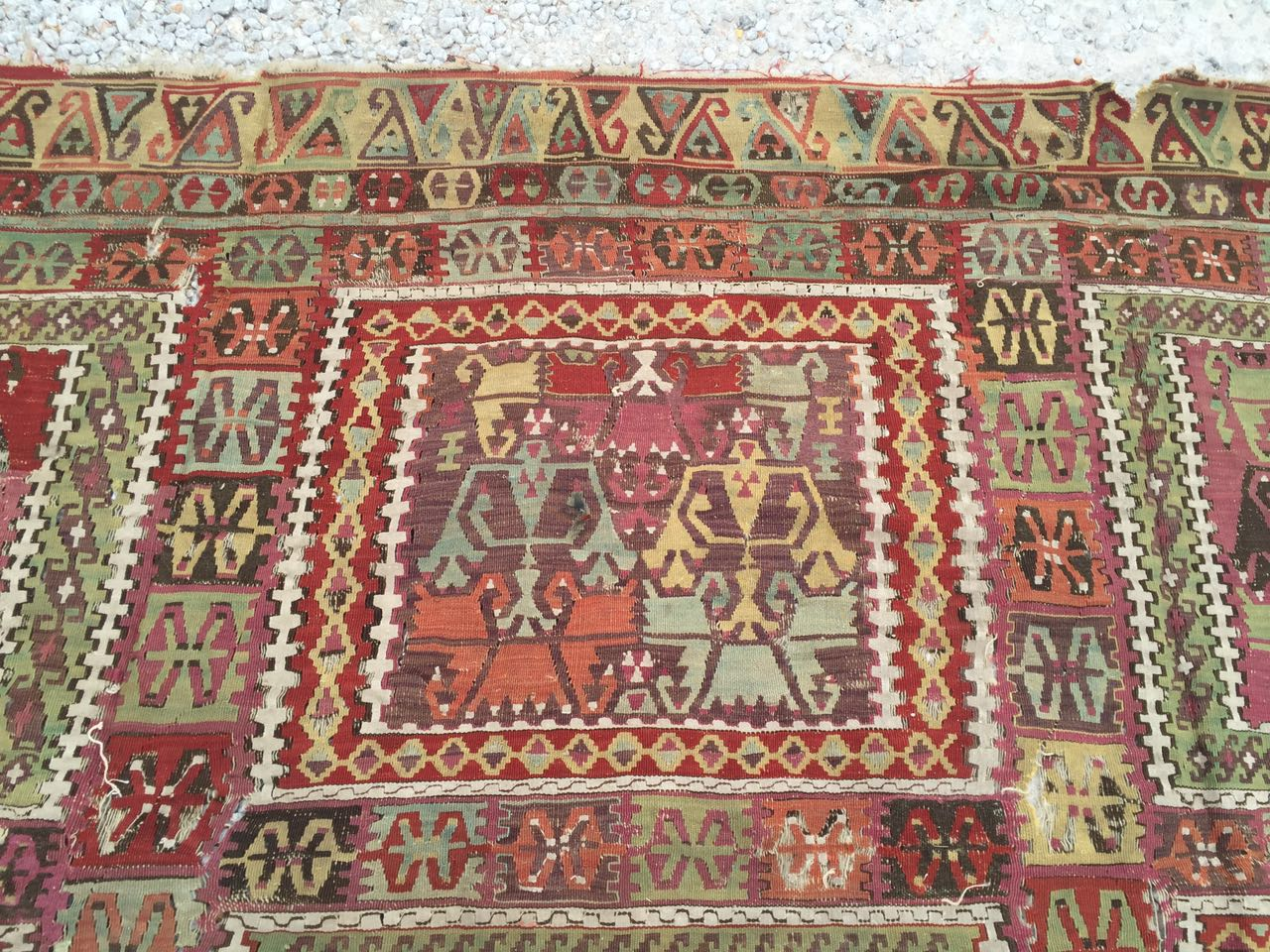 13125 Antique Anatolian kilim rug (4)
