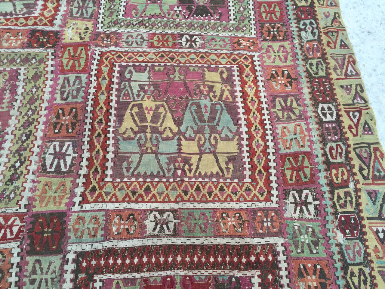 13125 Antique Anatolian kilim rug (8)