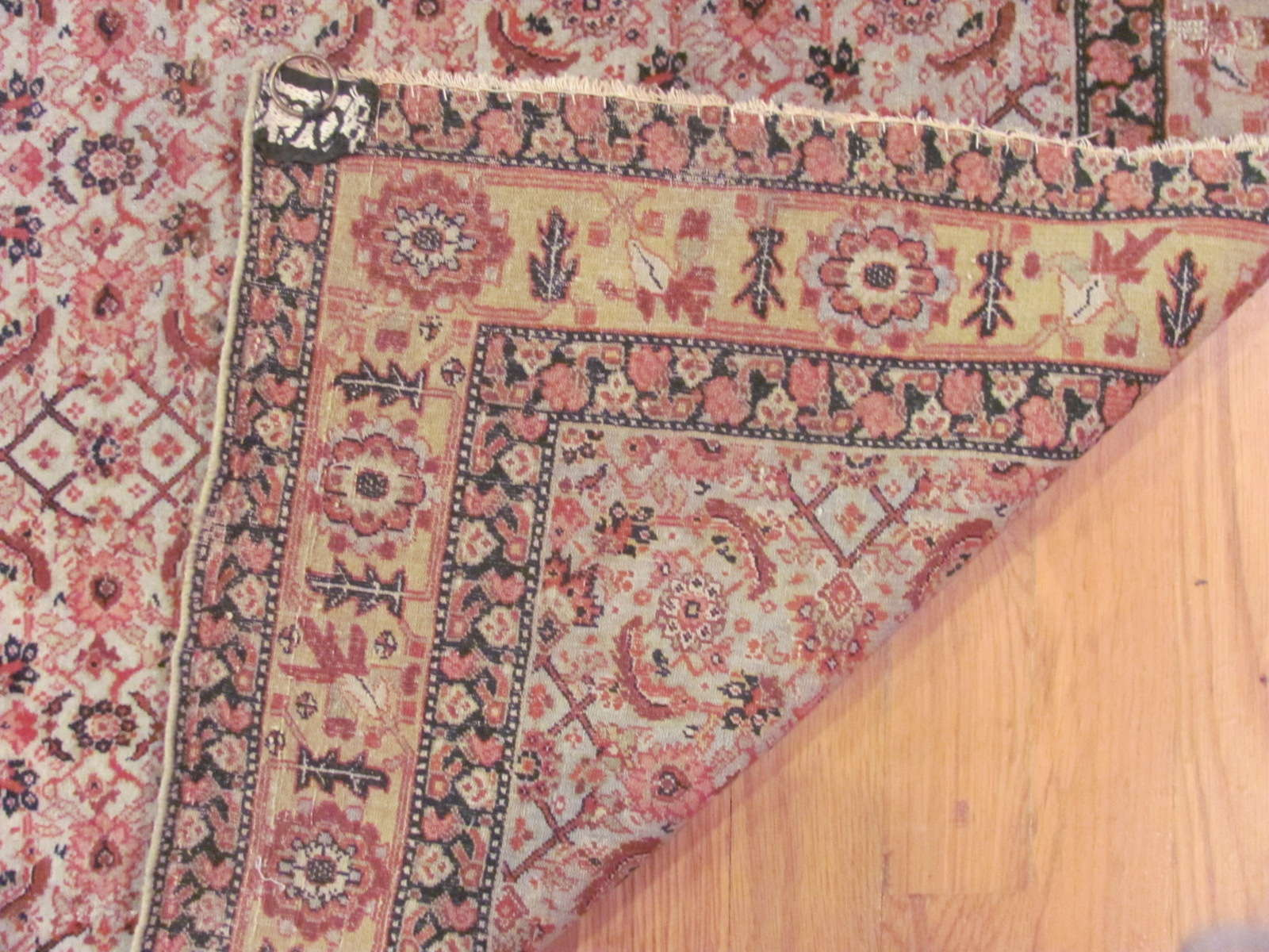 24399 Antique Persian Senneh hall runner 3,1x12,10-3