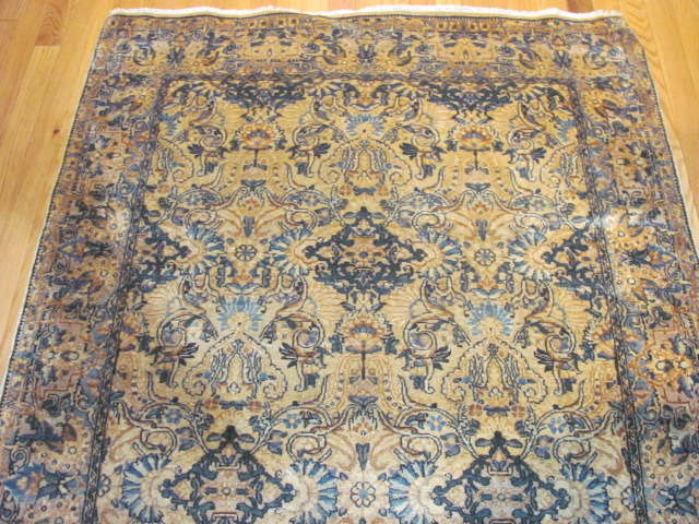 24942 Persian Kirman rug 3,9 x 6,9-1