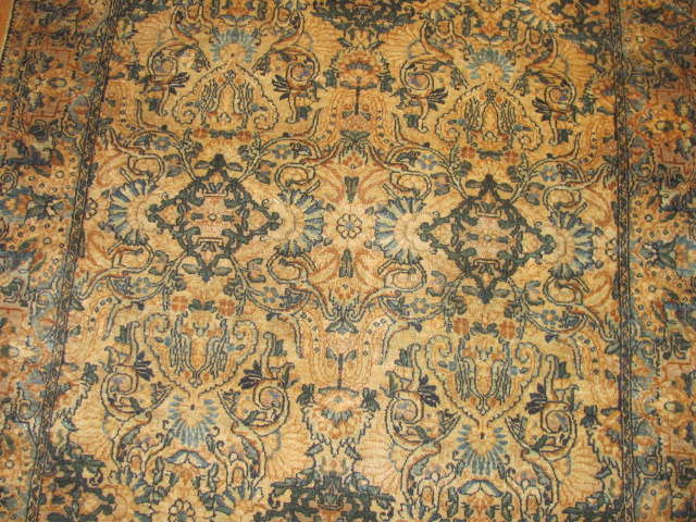24942 Persian Kirman rug 3,9 x 6,9-2