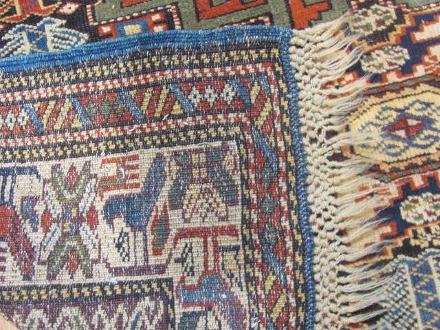 25065 Antique Caucasus Kuba rug 3,3 x 5-3