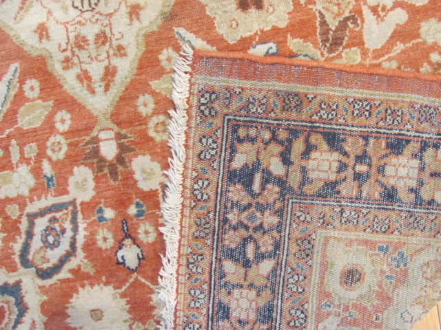 25071 antique Persian Malayer Mishan rug 3,9 x 5,9-3