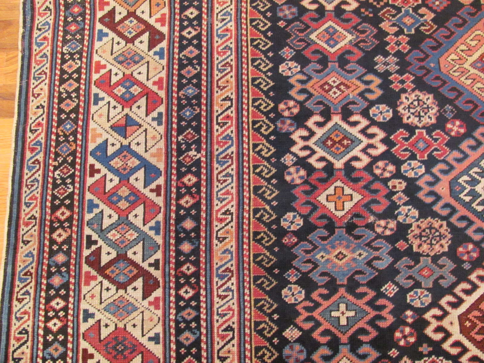 25088 antique Caucasus Shirvan gallery 4,11 x 9,7-2