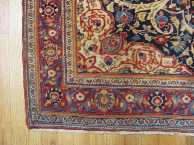 25101 antique persian kashan rug 4,1 x 6,5-2