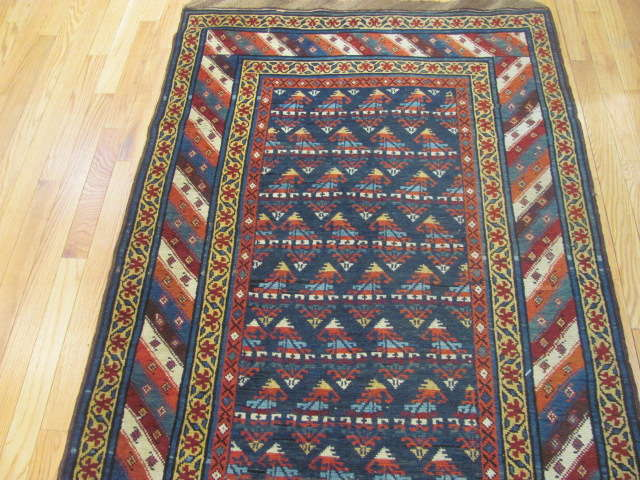 25108 antique persian hall runner 3,5 x 14,4-1