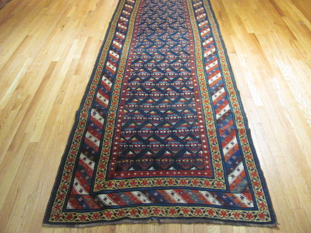 25108 antique persian hall runner 3,5 x 14,4