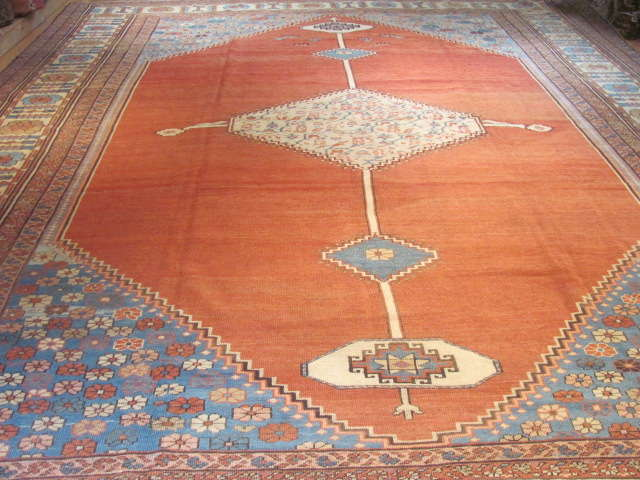 25118 Antique Persian Bakshaish rug 11,6 x 14,6