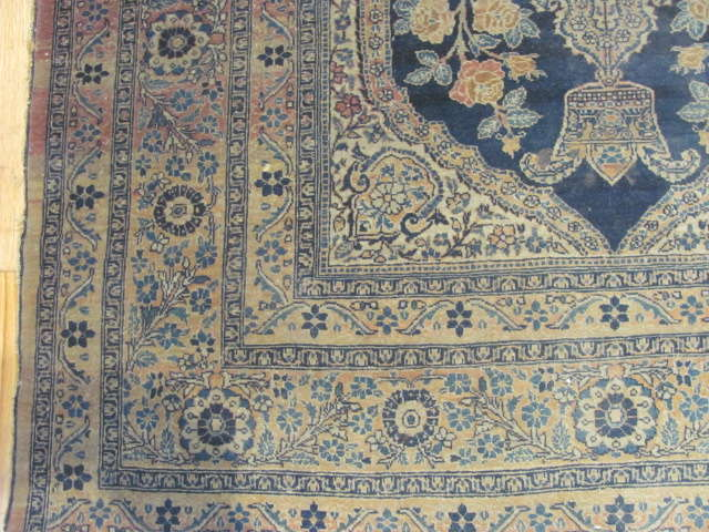 25126 Antique Persian Tabriz 4,2 x 6-2