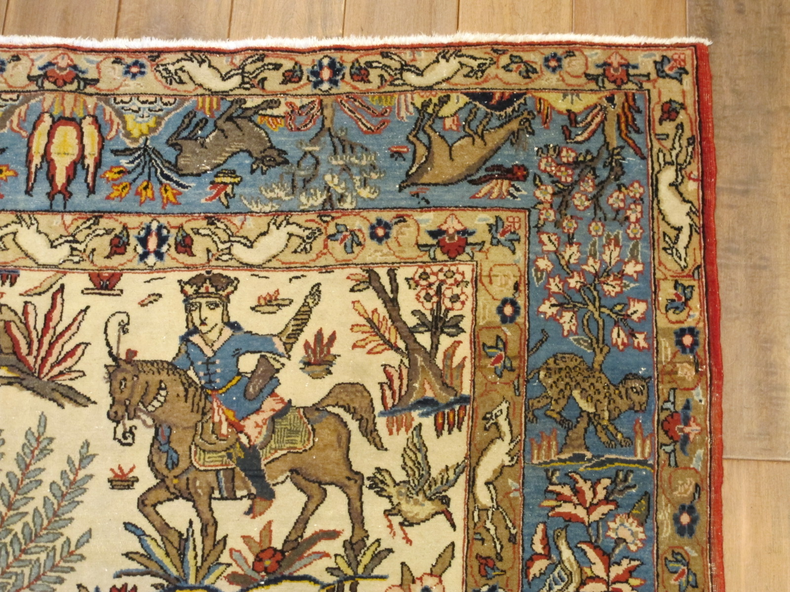 13123-persian-quom-hunting-rug-49-x-74-2
